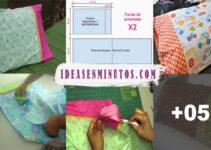 Aprende a como hacer una funda de almohada con patron