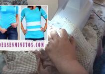 Aprende a como alargar una camisa bien facil con la maquina