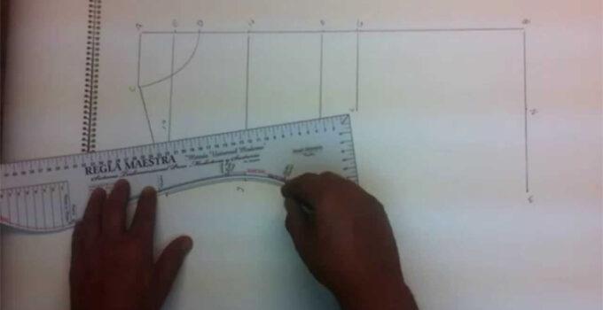 Curso gratis de como hacer trazos de patrones de costuras a mano