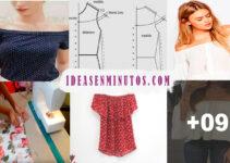 Curso gratis de como confeccionar blusa sin hombro
