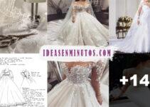 Curso gratis de como hacer vestido de novias  de moda 2021