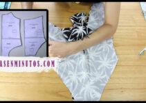 Aprende a como confeccionar un traje de baño con patron