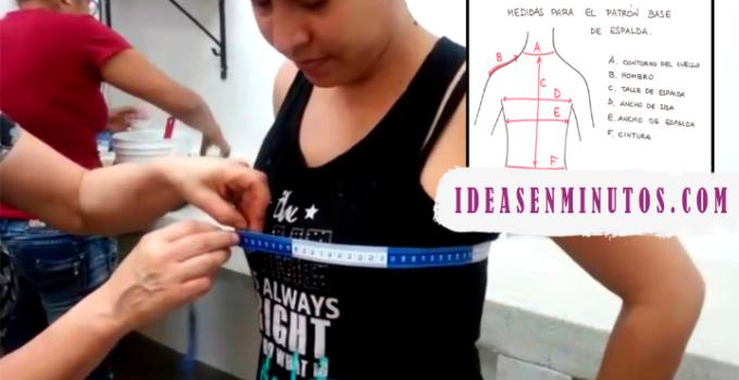 Curso gratis de como tomar medidas para hacer blusa