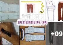 Aprende a como hacer trazo de pantalon de mujer